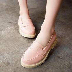 Tomma - 純色樂福鞋