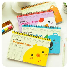 Momoi - Animal-Themed Weekly Planner