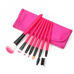 Magic Beauty - Makeup Brush Set (Rose Red)