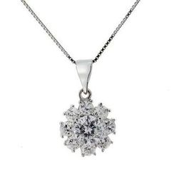 Glamagem - Dancing Snow Necklace