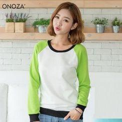 Onoza - 插肩袖卫衣