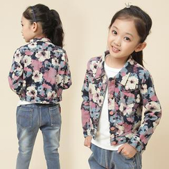Lullaby - Kids Floral Denim Jacket