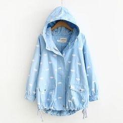 Musume - Printed Zip Jacket