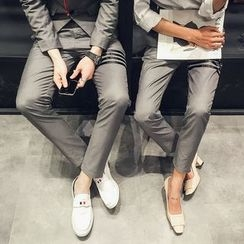 FULLHOPE - Couple Matching Dress Pants