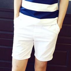 Evolu Fashion - 纯色短裤