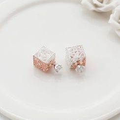 Love Generation - Cube Double-Sided Earrings