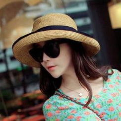 Pompabee - 蝴蝶結太陽帽