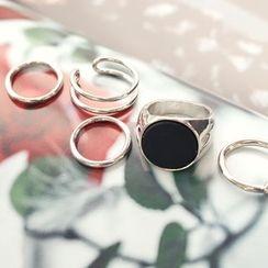 DANI LOVE - Set of 5: Rings
