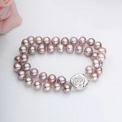 ViVi Pearl - Freshwater Pearl Layered Bracelet