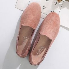 SouthBay Shoes - Faux Suede Loafers