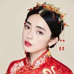 Miss Diva - 珍珠耳環 / 髮箍 / 髮簪