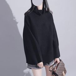 Sonne - Cowl-Neck Knit Sweater