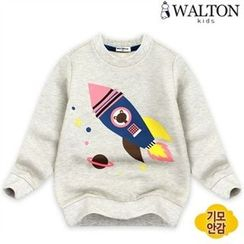 WALTON kids - Kids Cotton Print Sweatshirt