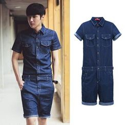 MRCYC - Denim Playsuit
