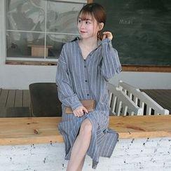 Closette - Striped Shirtdress