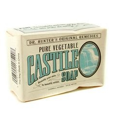 Caswell Massey - Dr. Hunter Pure Vegetable Castile Soap