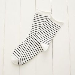 SouthBay Shoes - Striped Socks