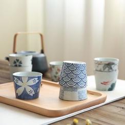 川岛屋 - 印花陶瓷杯