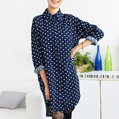 59 Seconds - Polka Dot Shirtdress