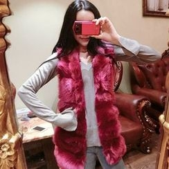 Be Bonita - Faux-Fur Vest