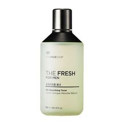 The Face Shop - The Fresh For Men Oil Control Toner 150ml