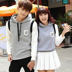 Igsoo - Couple Panel Hoodie