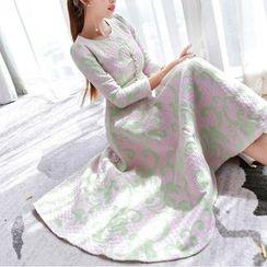 Aurora - 提花連衣裙