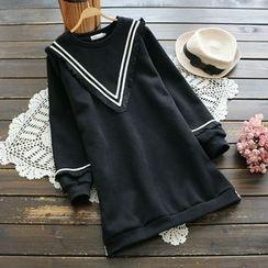 YOYO - Long-Sleeve Fringed Dress