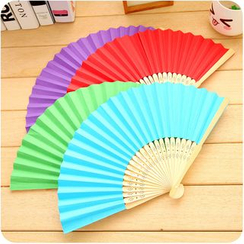 Homy Bazaar - Plain Hand Fan