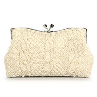 Ethel - Beaded Clutch