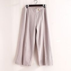 11.STREET - Asymmetric Wide-Leg Pants
