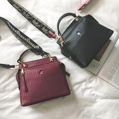 Secret Garden - Patterned Strap Shoulder Bag