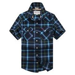 Lutai - Plaid Casual Shirt