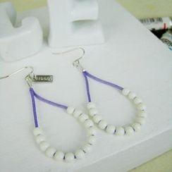 MyLittleThing - Fresh Bead Earrings(Purple)