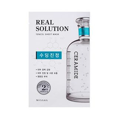 Missha - Real Solution Tencel Sheet Mask (Soothing)