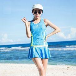 Sirene - 印花分體泳衣