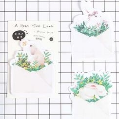 Homey House - Rabbit Memo Pad