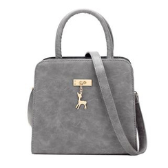 LineShow - Faux Leather Handbag