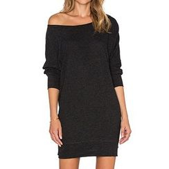 Eloqueen - Long-Sleeve Knit Dress