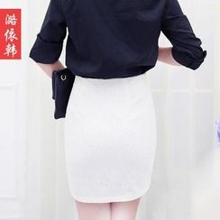 Loverac - Lace Pencil Skirt