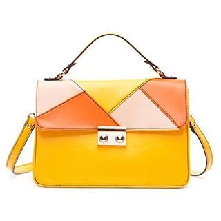 MBaoBao - Color-Block Satchel