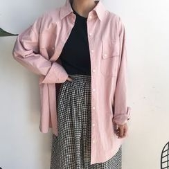 Dute - Plain Long Shirt