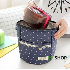 Lazy Corner - Dotted Thermal Lunch Bag