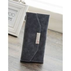 Bags 'n Sacks - Faux-Leather Long Wallet