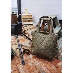 GOROKE - Quilted Fabric Shopper Bag