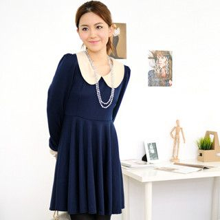 Peter-Pan Collar Dress