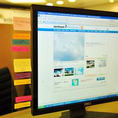 iswas - Computer Memo Board