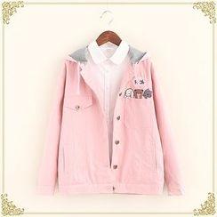 Fairyland - Embroidered Hooded Jacket