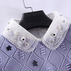 Eustacia - Embroidered Decorative Collar