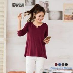 OrangeBear - Long-Sleeve T-Shirt